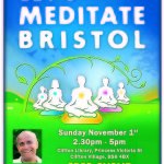 Lets Meditate Bristol A5 Flyer